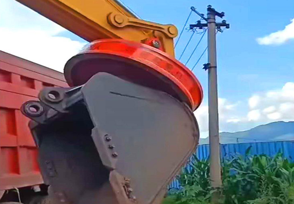 挖机专用强磁电磁吸盘